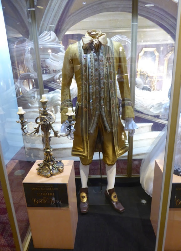 Ewan McGregor Beauty and the Beast Lumiere costume