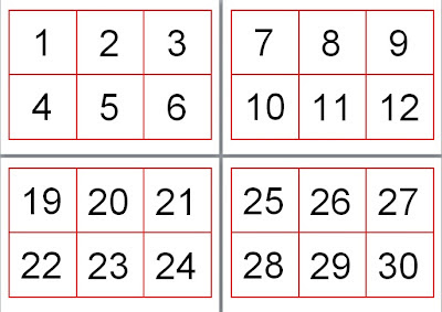 It's just a graphic of Modest Printable Number Flashcards