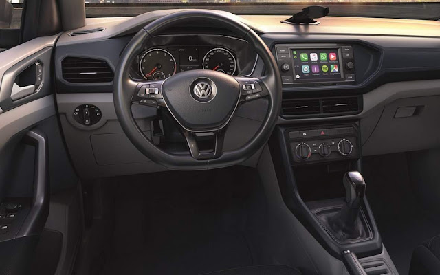 VW T-Cross 200 TSI AT - painel