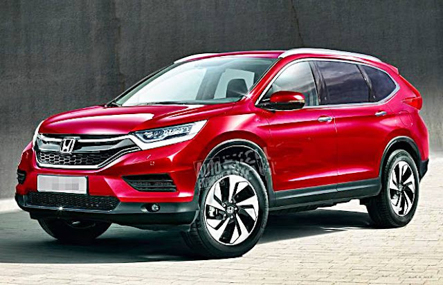 New Honda CR-V ready to grow with seven seats in 2018