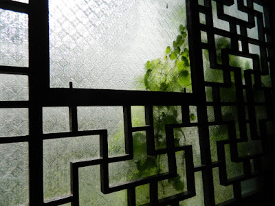 Lingering Garden Suzhou China window screen by garden muses-not another Toronto gardening blog