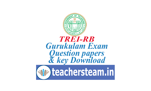 trierb question papers key