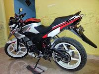 Berbagai Ide Modifikasi Honda CB150R Old Keren dan Minimalis