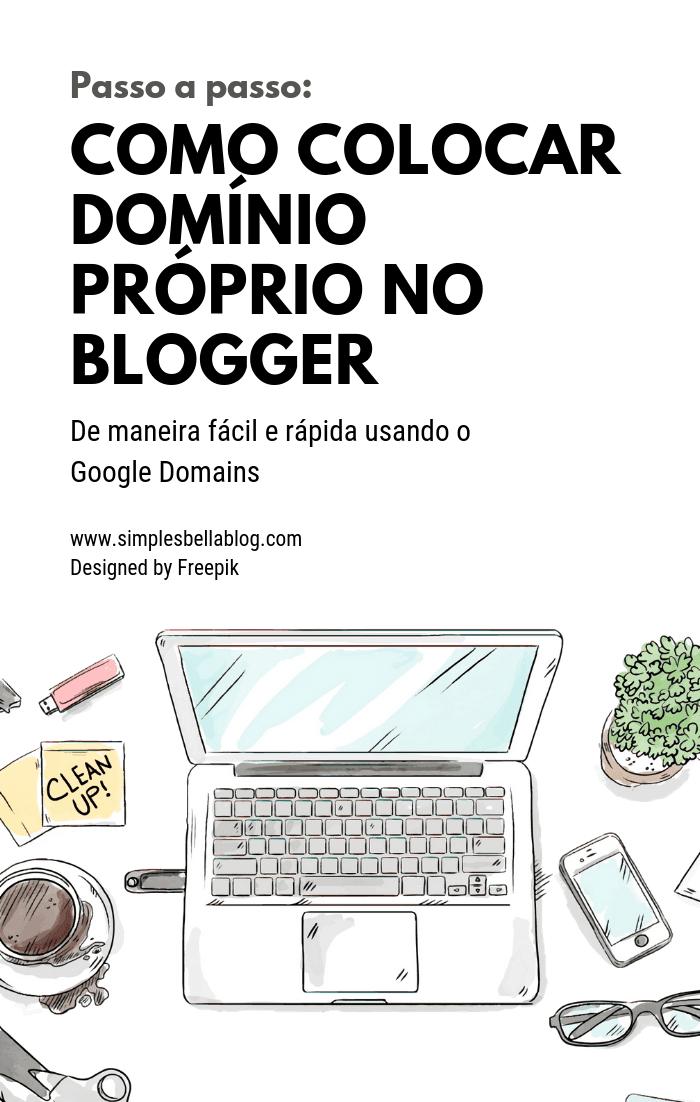 Como colocar domínio próprio no blogger usando o Google Domains (PASSO A PASSO)