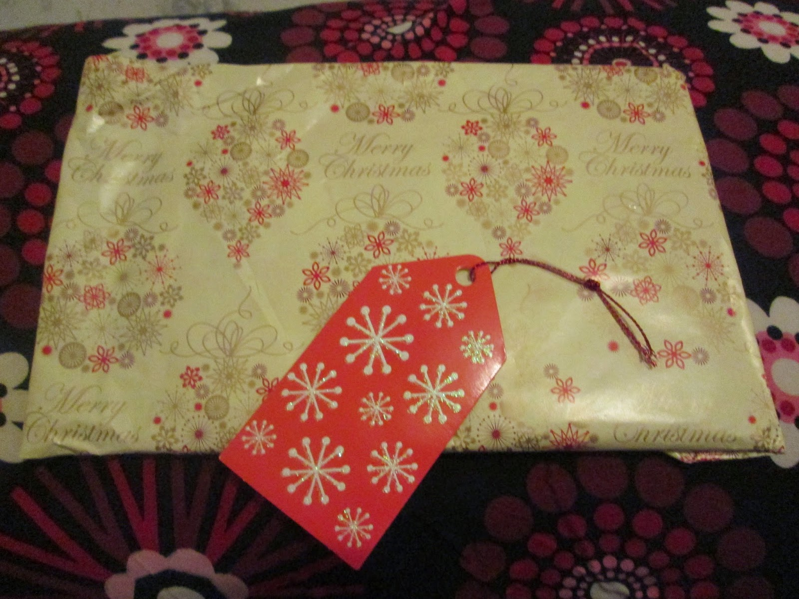 North West Blogger Secret Santa - Seeing Spots