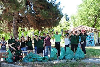 Παγκόσμια Μέρα Περιβάλλοντος: Καθαρίζουμε το Πάρκο Αλκαζάρ (ΝΕΑ ΑΚΡΟΠΟΛΗ ΛΑΡΙΣΑΣ)