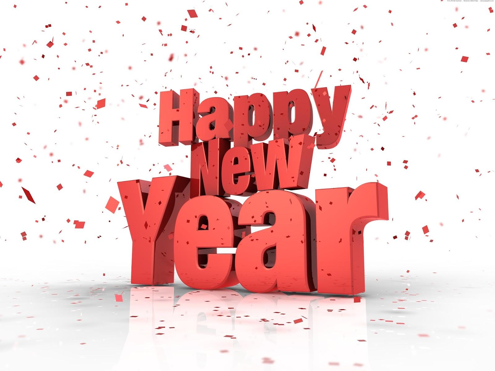 Bonne Année 2016 en Anglais