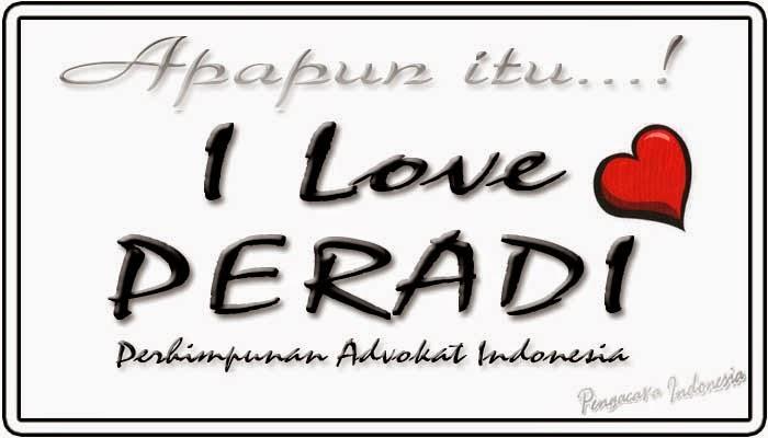 Indonesian Lawyer Blogger PERADI  PENGUMUMAN SERTIFIKAT