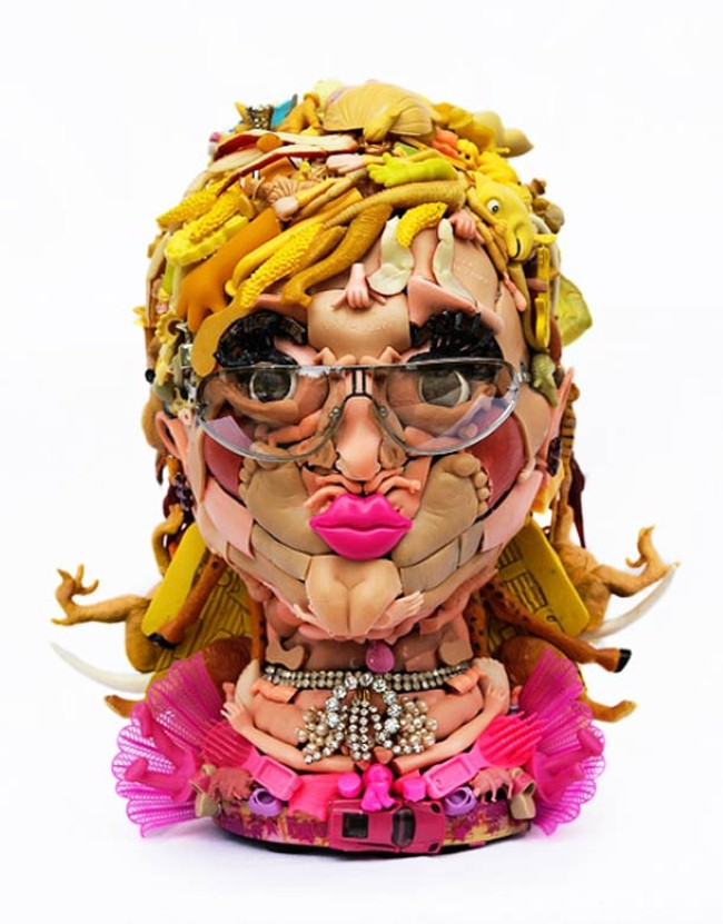 Freya Jobbins. Неоднозначные скульптуры 7