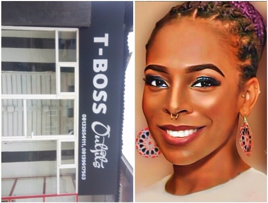 T'boss Boutique spotted in Warri (Photo)