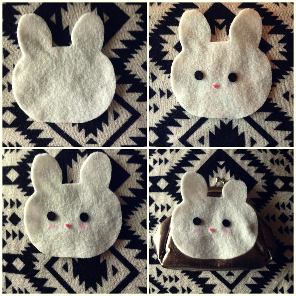 Cute Bunny Coin Purse DIY