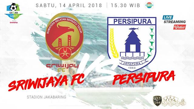 Prediksi Sriwijaya FC Vs Persipura Jayapura, Sabtu 14 April 2018 Pukul 15.30 WIB @ Indosiar