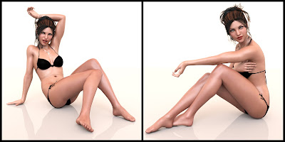 Captivate Poses for Genesis 3 Female