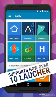 Cube Theme 2 over 10 Launcher support
