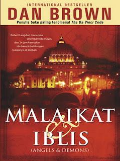 Novel Malaikat dan Iblis (Angels and Demons) - International Bestseller