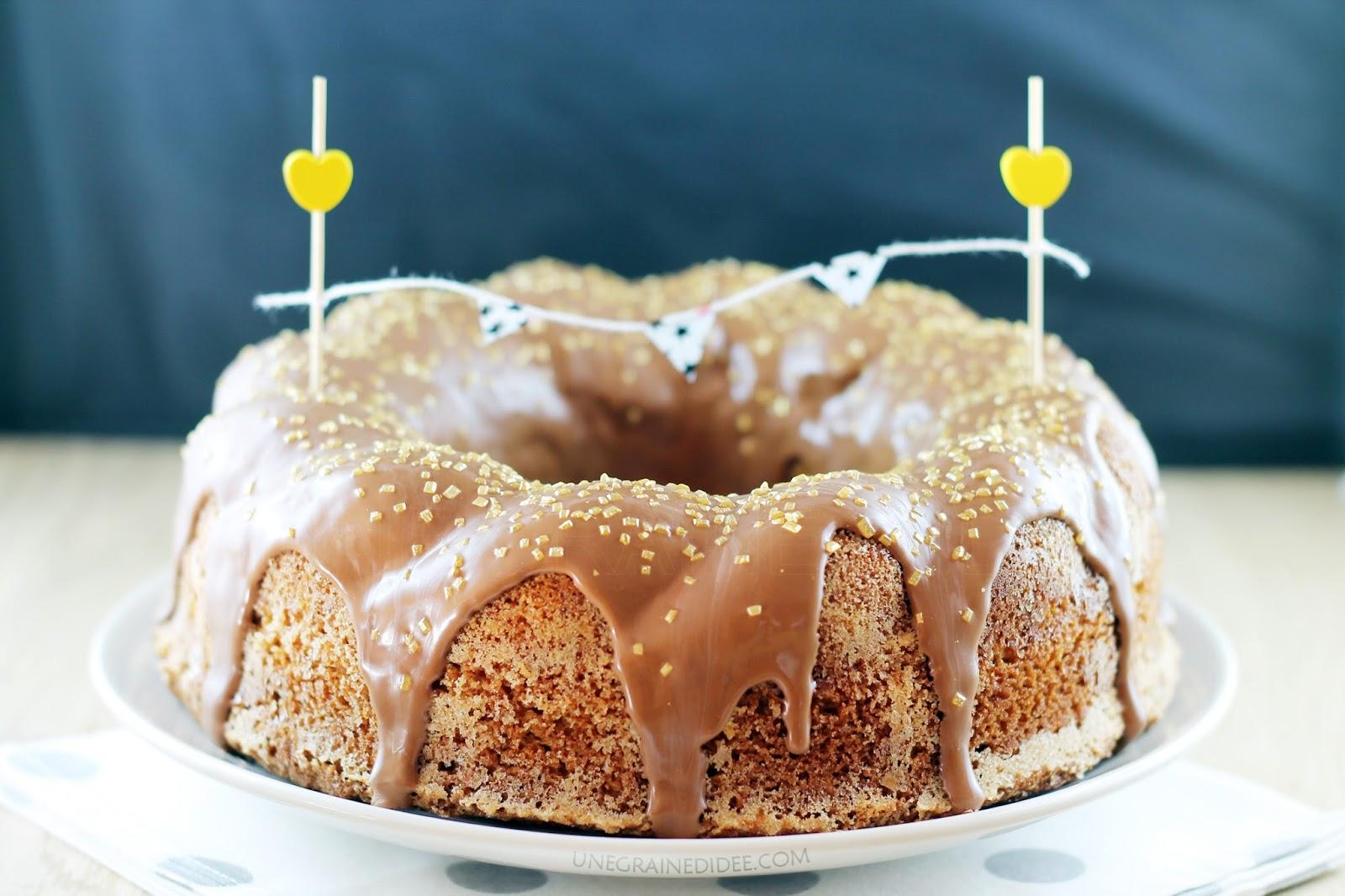 Gâteau Crousti Moelleux à la Noisette   Une Graine d'Idée