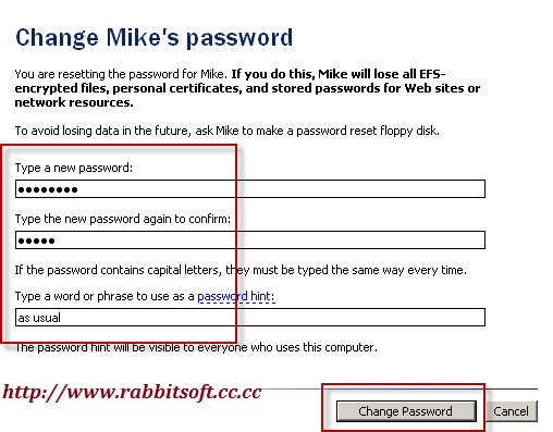 how to find administrator password xp