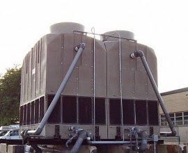 plastic cooling tower