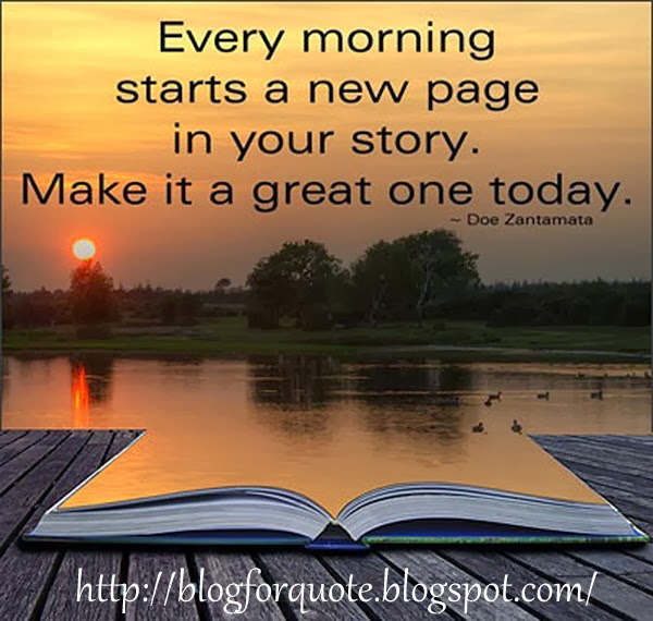 30 Daily Inspirational Quotes To Start Your Day: Morning Quote : Have Fresh Day