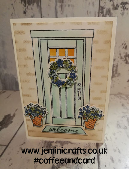 At Home with you - the perfect New Home card. with Jemini Crafts