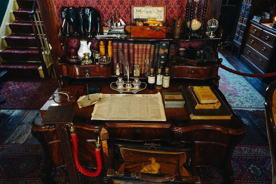 シャーロック・ホームズ博物館(Sherlock Holmes Museum) 2階