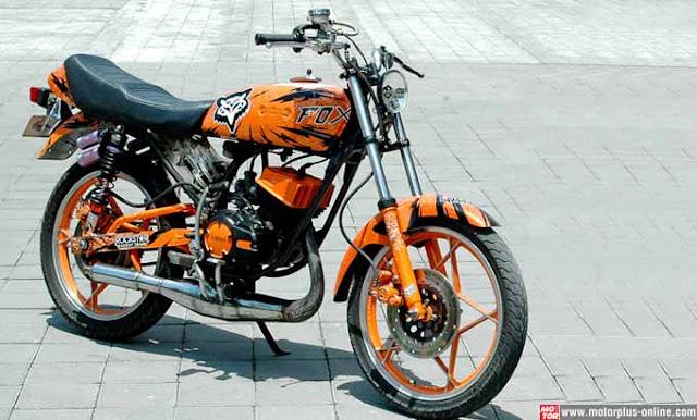 Modifikasi Yamaha RX King Kustom Gaya Jogja dan Jateng