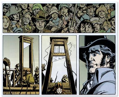 Batman el reinado del terror de M. Barr y García López edita ECC comic revolución francesa