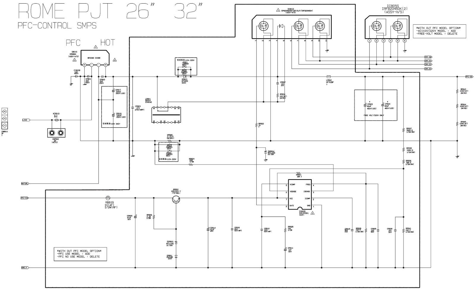 samsung tft-lcd tv le26m51b - le32m51b - le32m61b ... samsung dv218aew wiring schematic samsung lcd wiring schematic