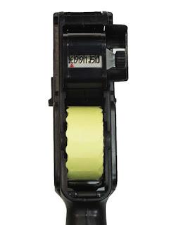 carro numérico de etiquetadora para tienda