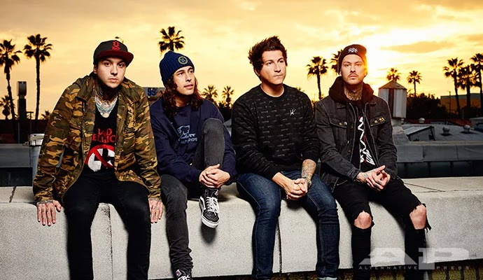 Terjemahan Lirik Lagu A Match Into Water ~ Pierce The Veil