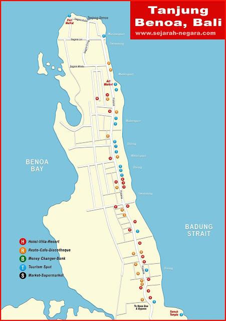 image: Tanjung Benoa Map High Resolution