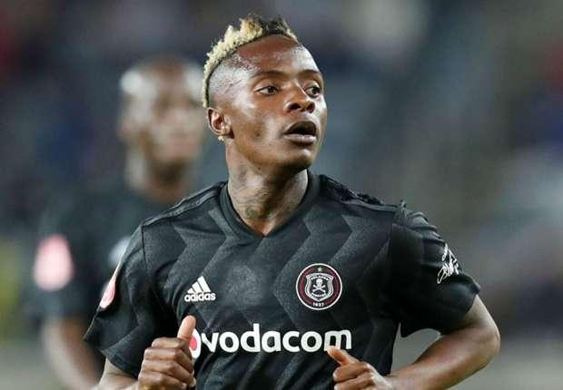 Orlando Pirates midfielder Kudakwashe Mahachi