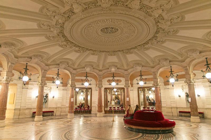Rotonda de los Abonados de la Ópera Garnier