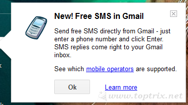 Send SMS To Any Mobile With Gmail   TopTrix