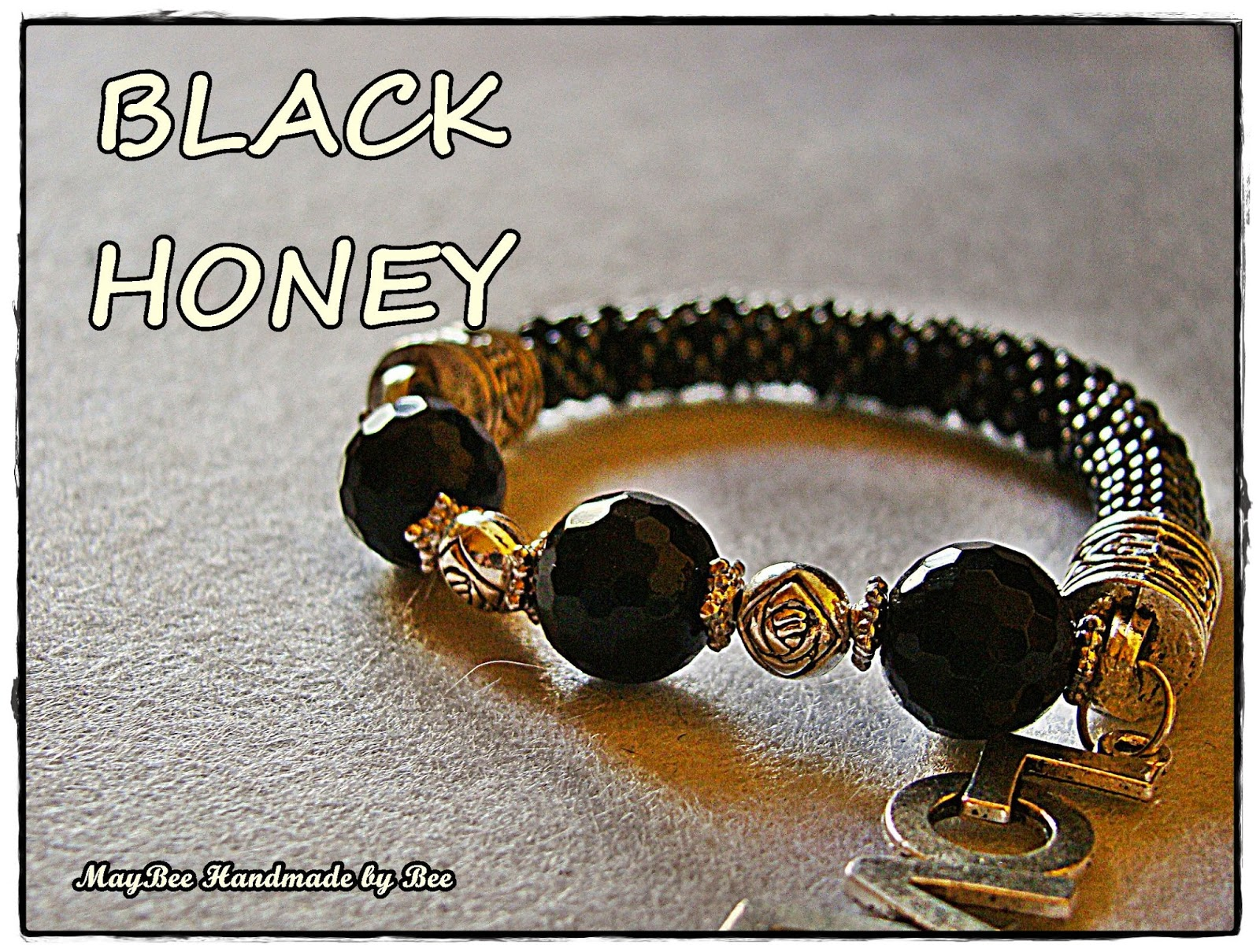 1ad3d7036a10 MayBee Handmade by Bee: Ya están aqui todas las pulseras Black Honey ...