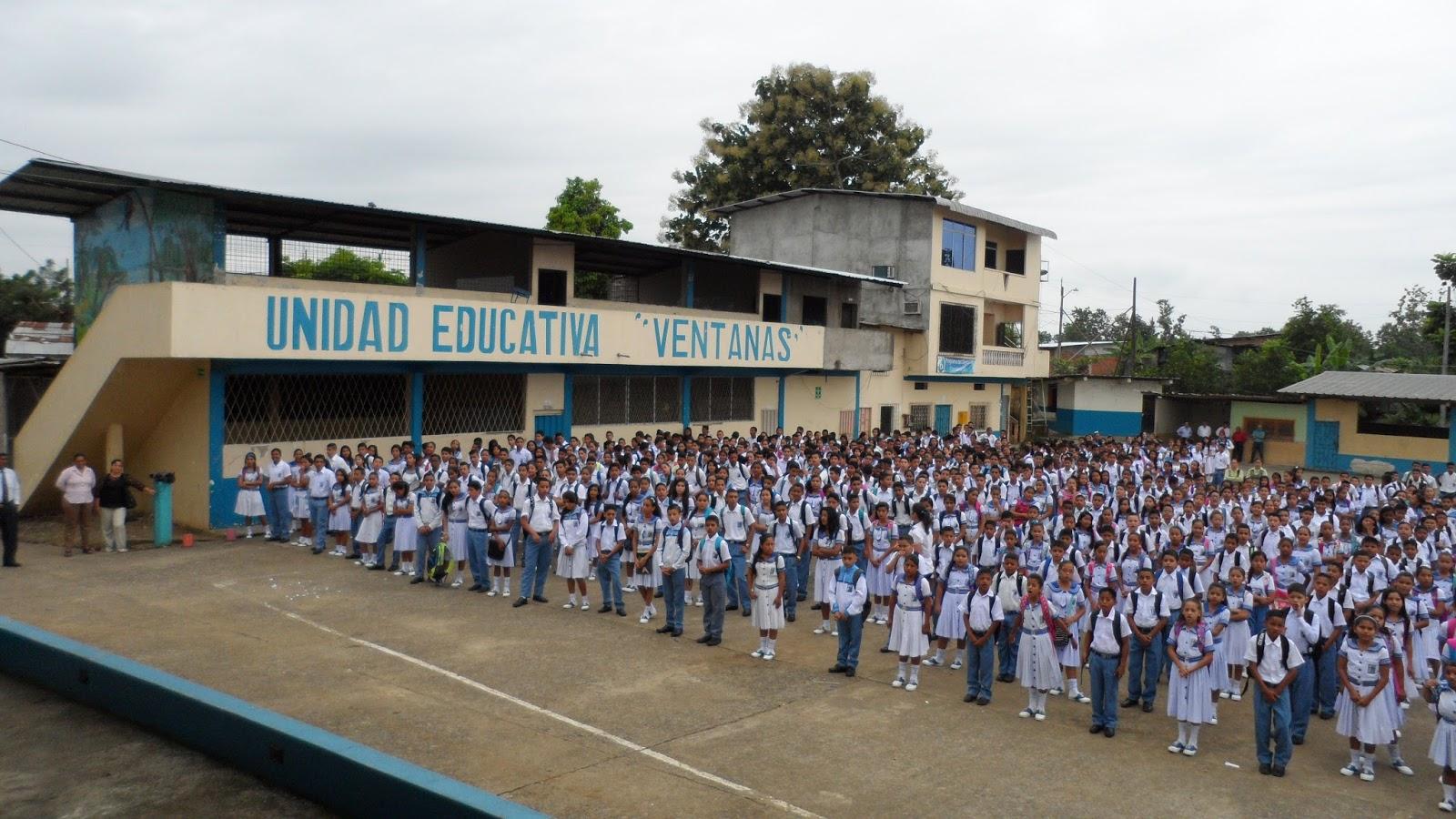 BIENVENIDOS A MI BITÁCORA 2016 ~ UNIDAD EDUCATIVA VENTANAS 2016