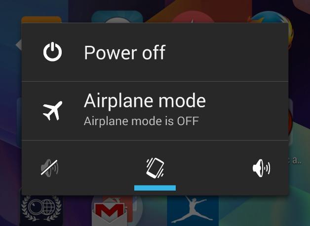 Aktifkan Mode Pesawat