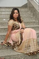 Shilpa Chakravarthy in Lovely Designer Pink Saree with Cat Print Pallu 059.JPG