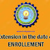Extension in the date of enrollment of UPTU students