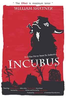 Incubus, poster de la película dirigida por Leslie Stevens