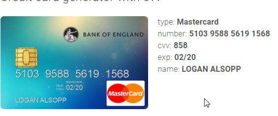 فيزا وهمية ما هي بطاقة