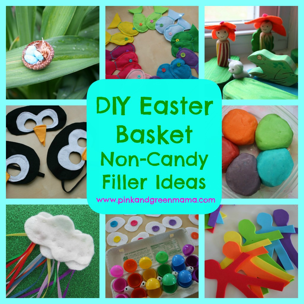 Pink and green mama easter basket non candy filler ideas to make easter basket non candy filler ideas to make for your kids negle Choice Image