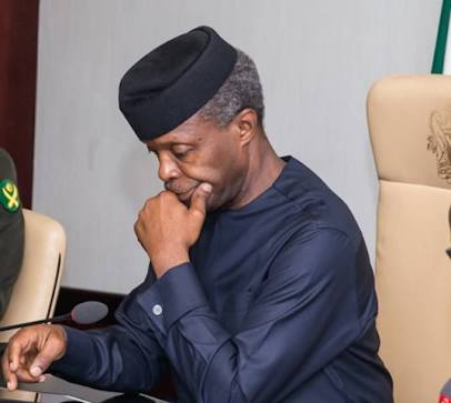 VP Osinbajo: TI's corruption rating call to work harder