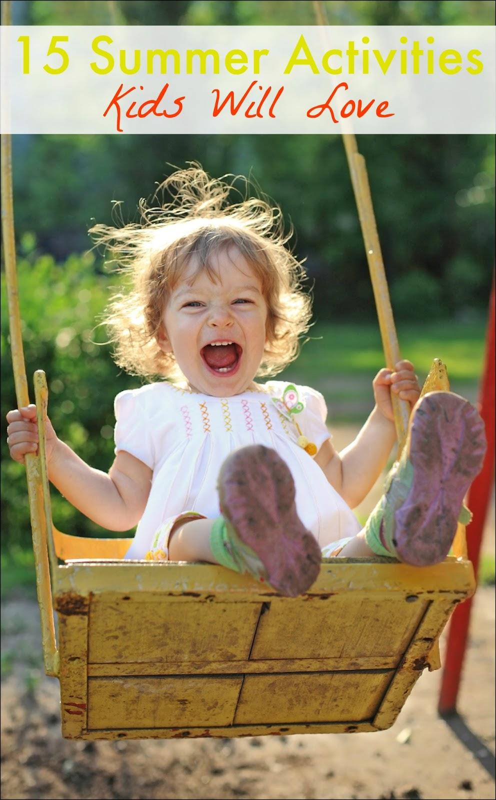 15 Summer Gel Nails: 15 Summer Activities Kids Will Love