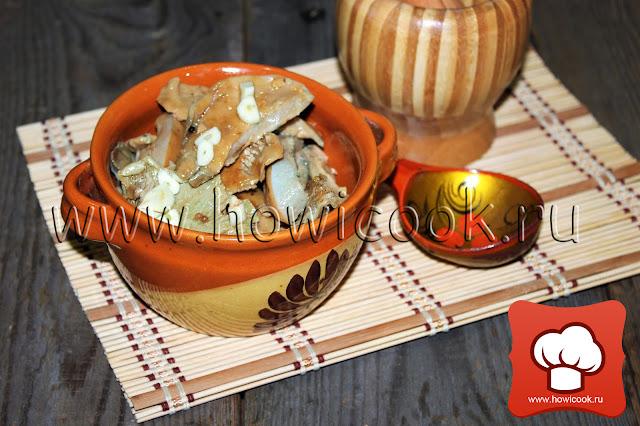 рецепт вкусных маринованных грибов на зиму с фото
