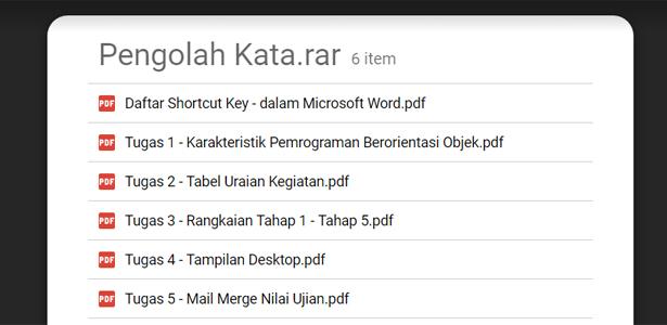 Rumus Excel Lengkap Dan Contohnya Pdf