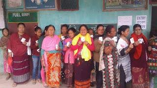 Voting ends peacefully in Darjeeling hills