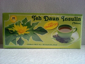 Obat Diabetes Alami Herbal Teh Celup Daun Insulin