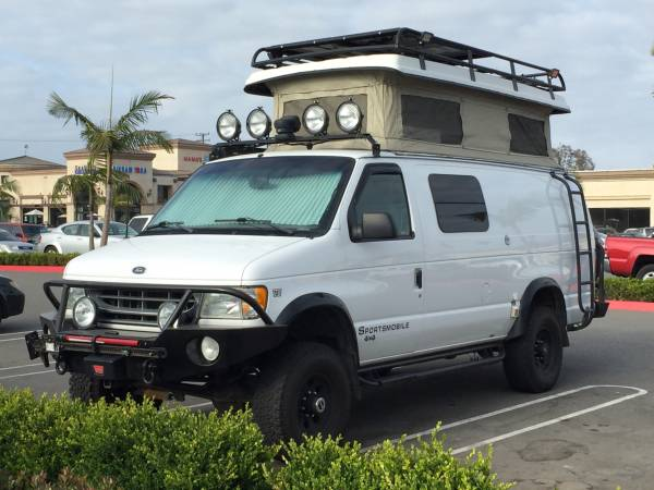 Sportsmobile 4x4 For Sale >> Used RVs 2002 Ford E350 Sportsmobile 4x4 Camper For Sale by Owner