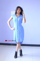 Telugu Actress Mounika UHD Stills in Blue Short Dress at Tik Tak Telugu Movie Audio Launch .COM 0123.JPG